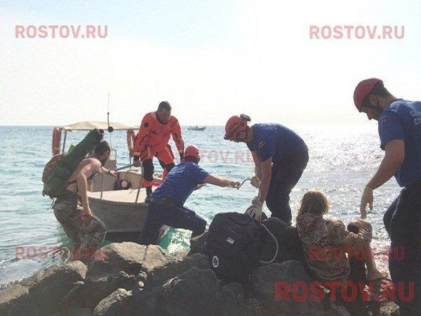 Сильную травму получил волгодонец, спрыгнув со скалы в Крыму