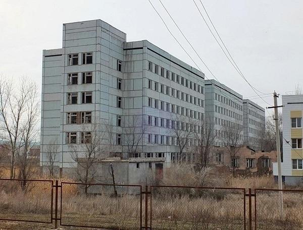 В Волгодонске стартовала подготовка к достройке детской больницы на Гагарина
