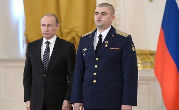Летчик из Зимовниковского района получил звезду Героя России за операцию в Сирии