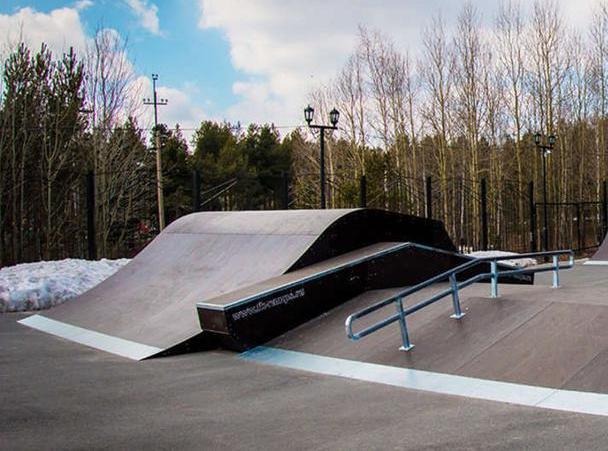 В парке Победы должны обустроить площадку для скейтеров