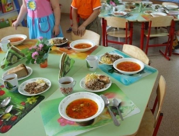 Более чем на 5 миллионов рублей увеличат продуктовую корзину в детских садах Волгодонска