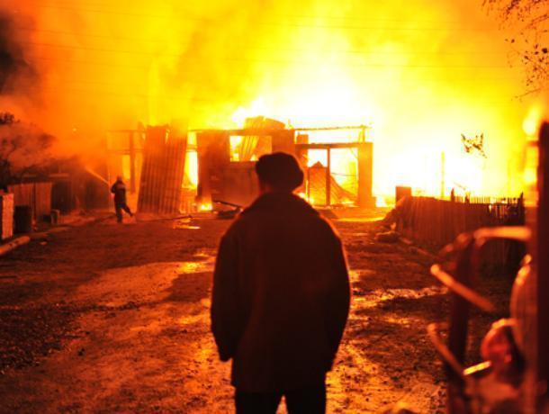 Пожилая пара погибла в огне под Волгодонском