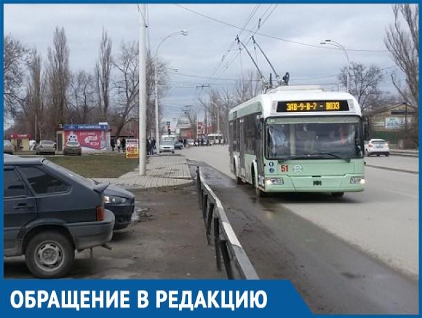 Новые троллейбусы отказываются идти до конечной остановки «ВОЭЗ», - волгодонцы