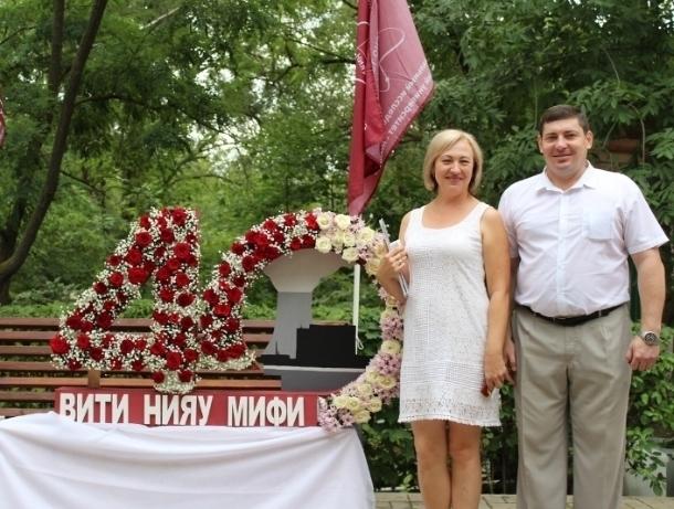 Валентина Руденко: Открытая ладонь, как признание любви к Волгодонску