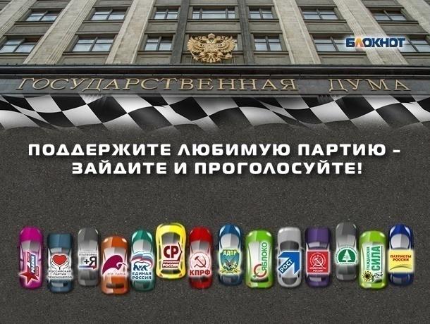 Ставропольская избирательная комиссия провела жеребьевку партий для размещения вбюллетенях