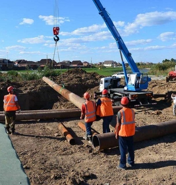 «Водоканал» заявил о замене более одного километра трубопровода на самых проблемных участках города