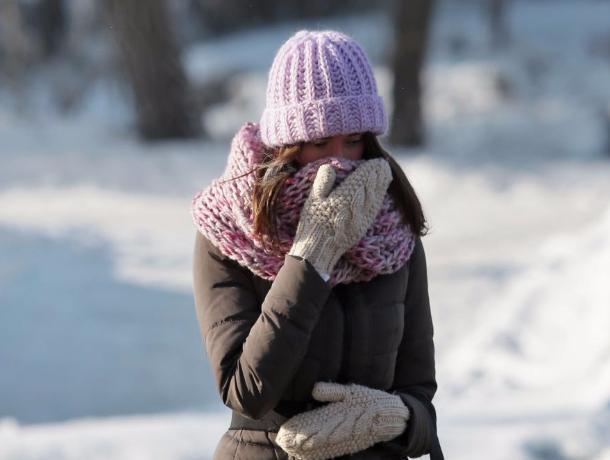 Холодный переменчивый ветер усилит январский мороз в Волгодонске