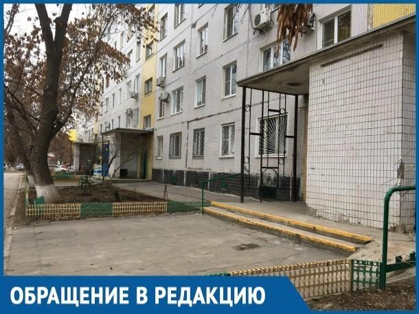 Война соседей за деревья и клумбы во дворе МКД ведется в Волгодонске