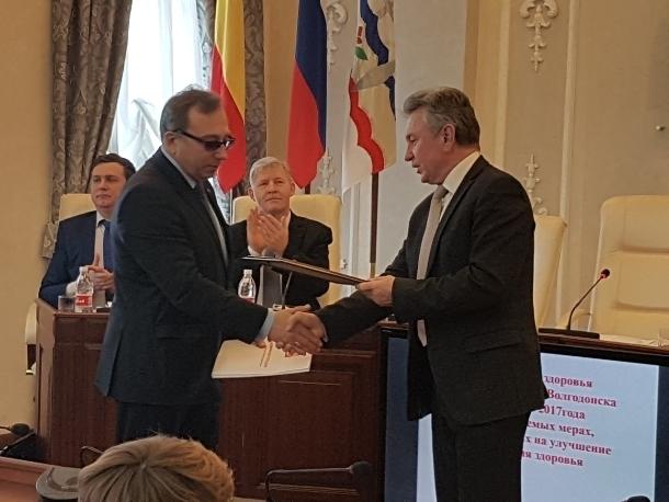 Волгодонское здравоохранение по итогам 2017 года впервые заняло второе место по области после донской столицы