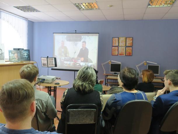 В Центральной библиотеке Волгодонска состоялась онлайн-встреча с Дмитрием Глуховским