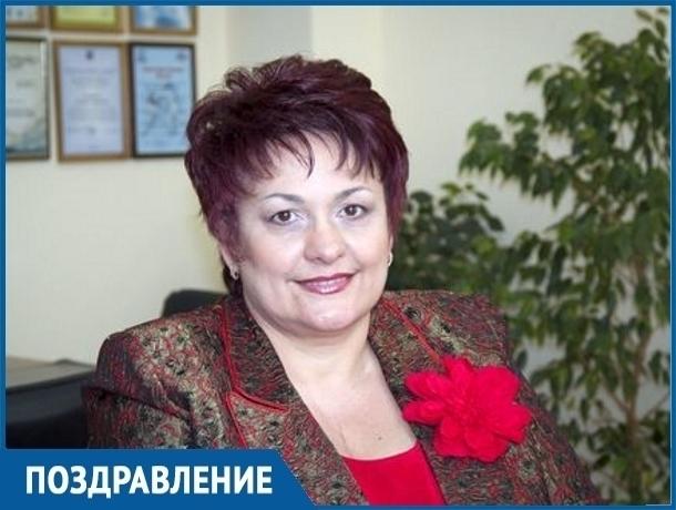 Глава Волгодонска Людмила Ткаченко отмечает личный праздник