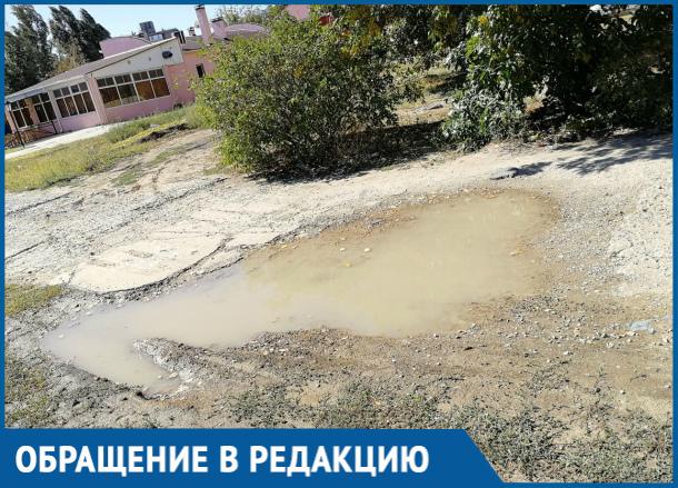 Волгодончанка сняла на видео ужасы прогулки с коляской по Курчатова