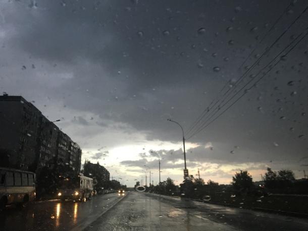 В Волгодонск пришла по-настоящему осенняя погода