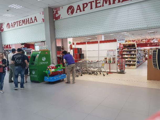 «Артемида» на набережной Волгодонска начала работу после принудительного закрытия по решению суда