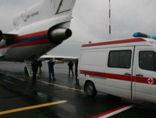 Пострадавших на РоАЭС спецборотом доставили в Москву