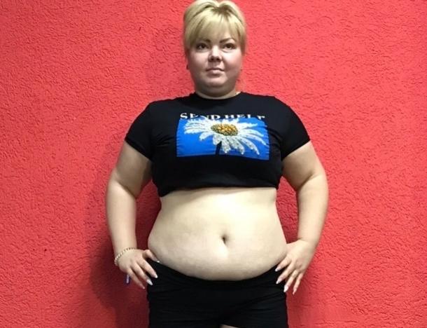 100-килограммовая Юлия Наугольнова участница проекта «Сбросить лишнее»