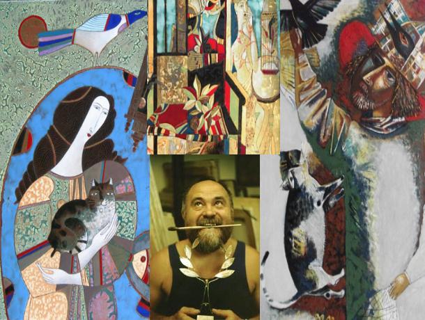В честь юбилея многогранного волгодонского художника Георгия Лиховида откроют выставку его неповторимых работ