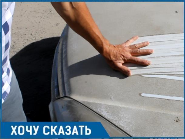 Наглый «КАМАЗИК» тацинских дорожников засыпал грязью и камнями автомобили в Волгодонске