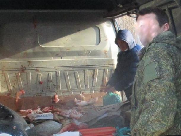 Мясо в грязных машинах и «свинскую» парковку во дворах выявили в Волгодонске инспекторы по городскому порядку