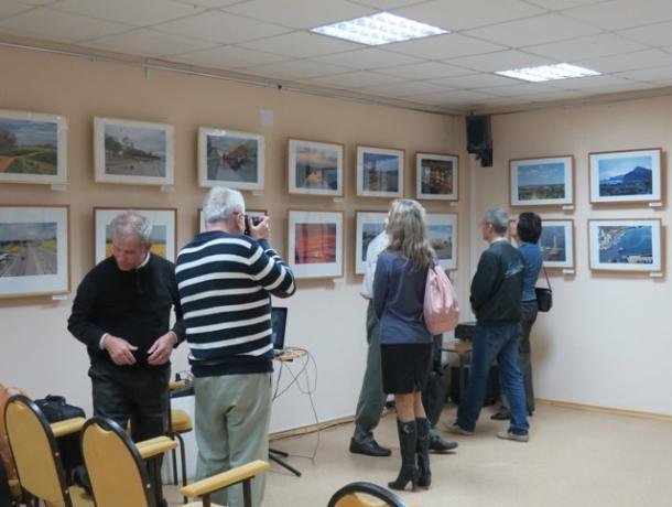 В Волгодонске открылась персональная фотовыставка