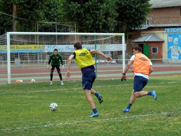 В пятницу, 13-го, волгодонские футболисты проведут домашнюю игру