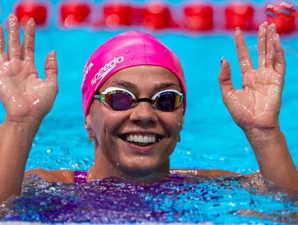 Ефимова одержала победу в заплыве на 200 метров брассом на втором этапе Кубка мира по плаванию
