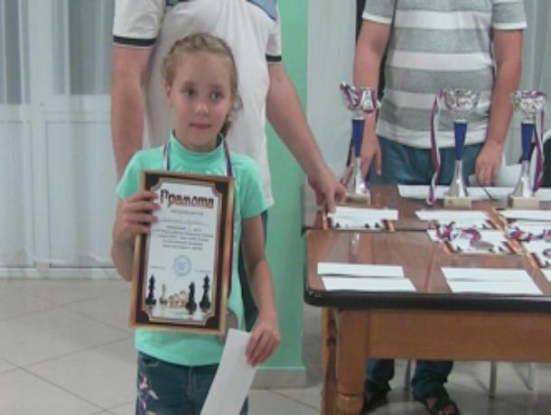 8-летняя шахматистка из Волгодонска отличилась на Фестивале в Анапе