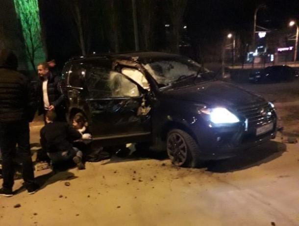 29-летняя пассажирка «Лексуса» пострадала в ночном ДТП в Волгодонске