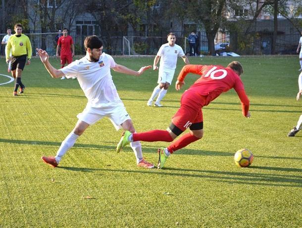 В субботу ФК «Волгодонск» проведет заключительный матч в областном чемпионате