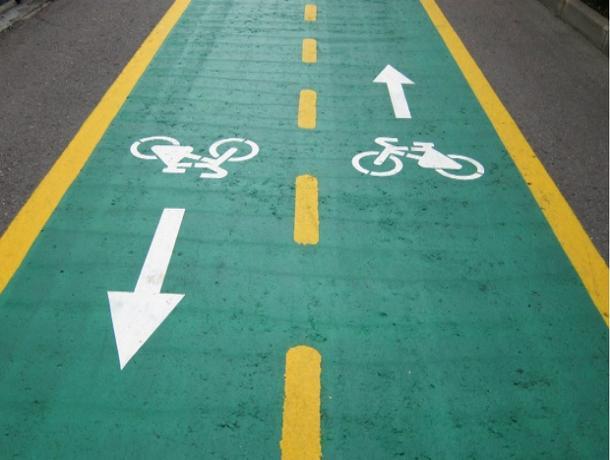 Волгодонские депутаты «продавили» проект по строительству велодорожки на проезжей части
