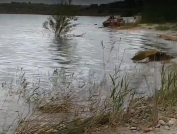 Цимлянское водохранилище затопило любимый пляж волгодонцев, - читатель