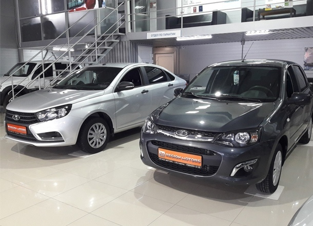 Выгодно купить новый автомобиль популярных марок вам помогут в «Регион Моторс»