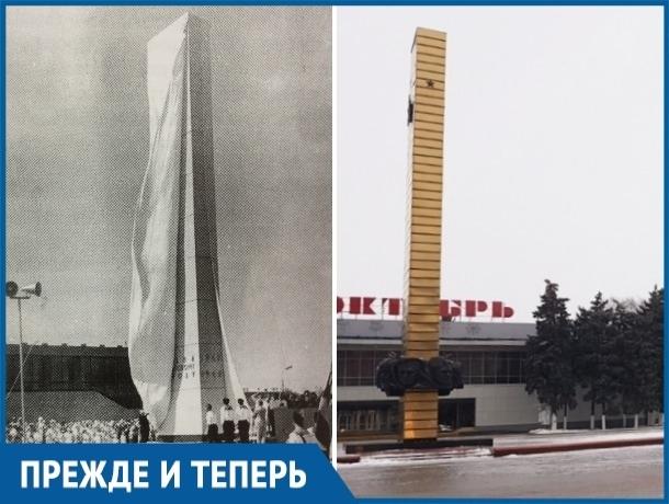 Какие изменения произошли с обелиском Победы в Волгодонске