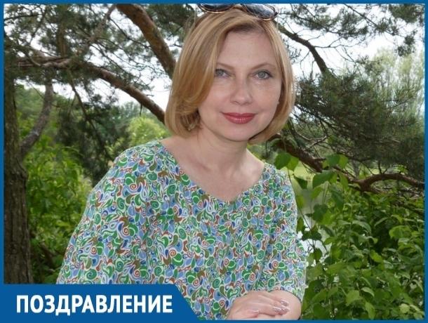 Телеведущая и журналист телекомпании «ТНТ-Волгодонск» Ольга Щеглакова отмечает день рождения