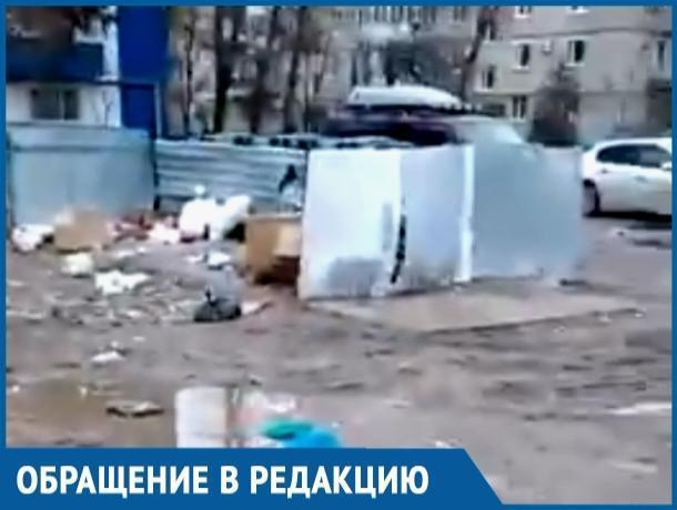 Девушка на видео высмеяла состояние дворов Волгодонска и обещания о благоустройстве города