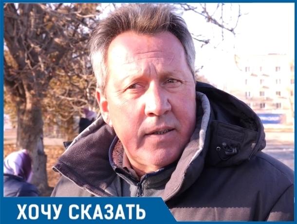 У волгодонского вокзала одна проблема — нет хозяина, - волгодонец Юрий Пшеничный