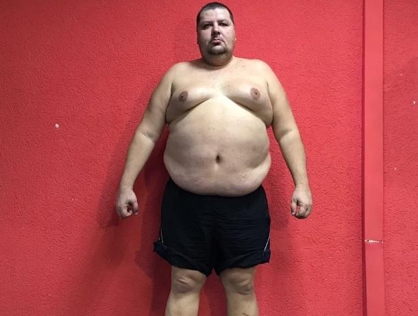 184-килограммовый Сергей Романов участник проекта «Сбросить лишнее»