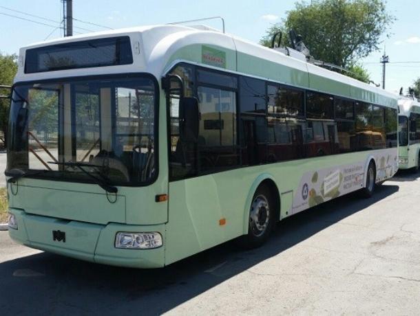 Троллейбусы Волгодонска пустили по другим маршрутам из-за ремонта