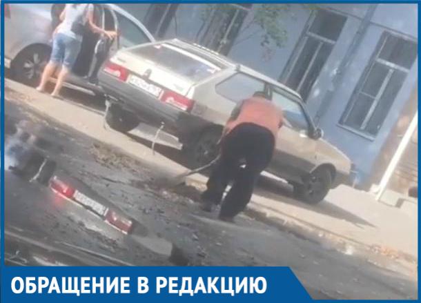 «Просто заложу землей»: Как «Водоканал» устраняет утечки в Волгодонске