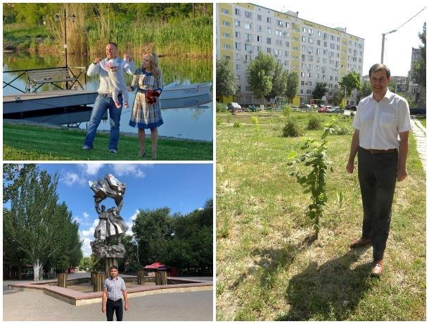 Еще шесть депутатов сделали фото напротив своих любимых мест в Волгодонске