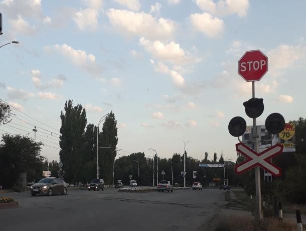 На железнодорожных переездах в Волгодонске светофоры возобновят работу