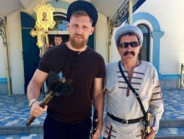 Известный волгодонец боксер Дмитрий Кудряшов принял казачью присягу