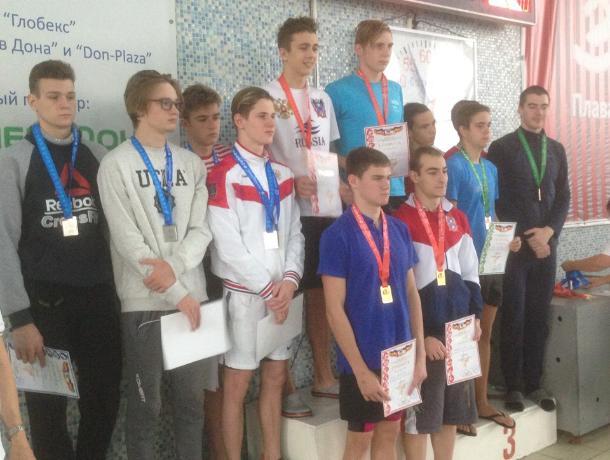 Волгодонские пловцы достойно представили город на областных соревнованиях