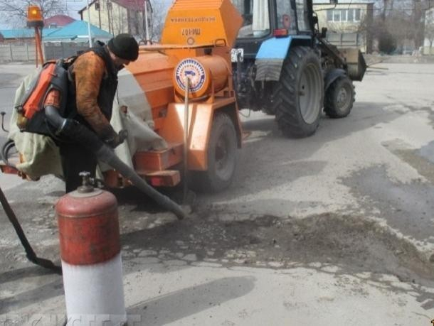 Вгосударстве Украина начался ремонт дорог