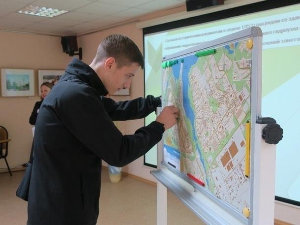 Студенты Волгодонска обнаружили «зеленые маршруты» на карте города