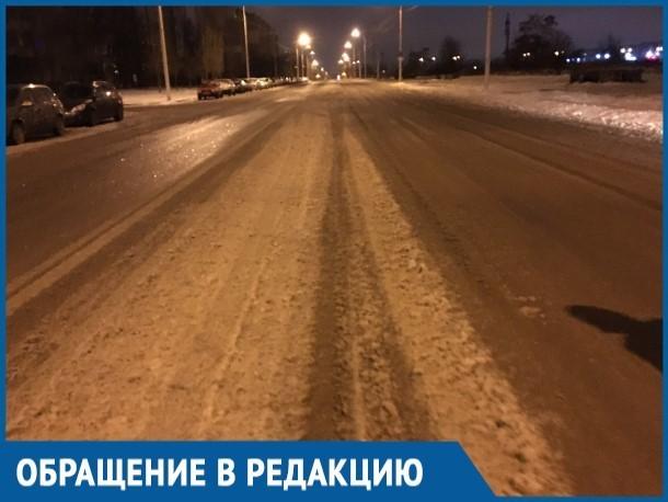 Грязь и слякоть на дорогах Волгодонска вызвали раздражение у местных жителей