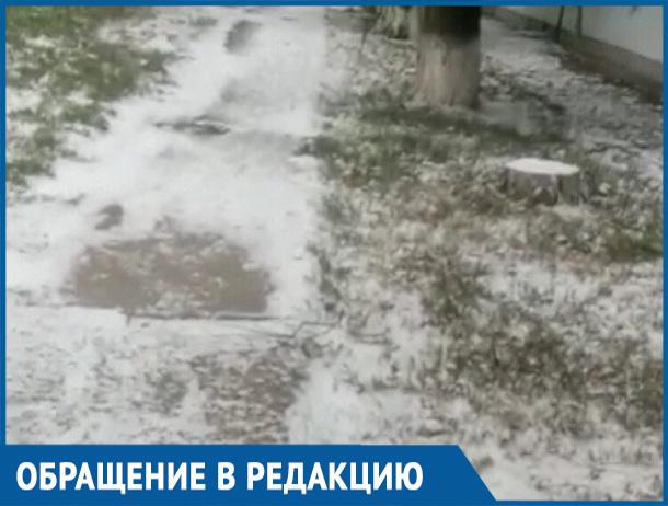 Волгодонцы призвали городские власти приступить к уборке города от снега