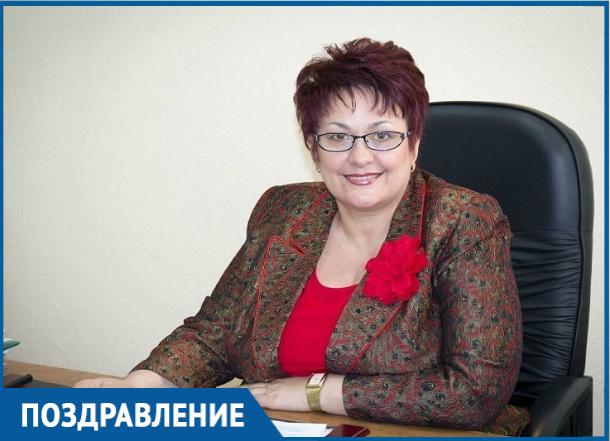 Глава города Волгодонска Людмила Ткаченко отмечает личный праздник
