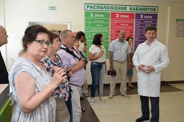 «Бережливая поликлиника» Волгодонска поделилась опытом с коллегами из Ростовской области