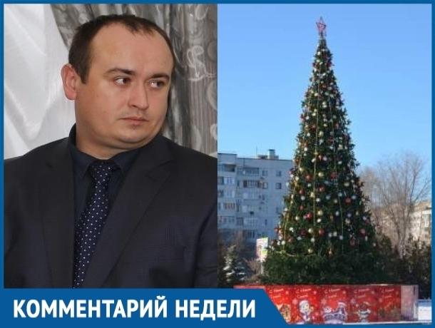 Скоро Волгодонск начнут украшать новогодними огнями и праздничными баннерами